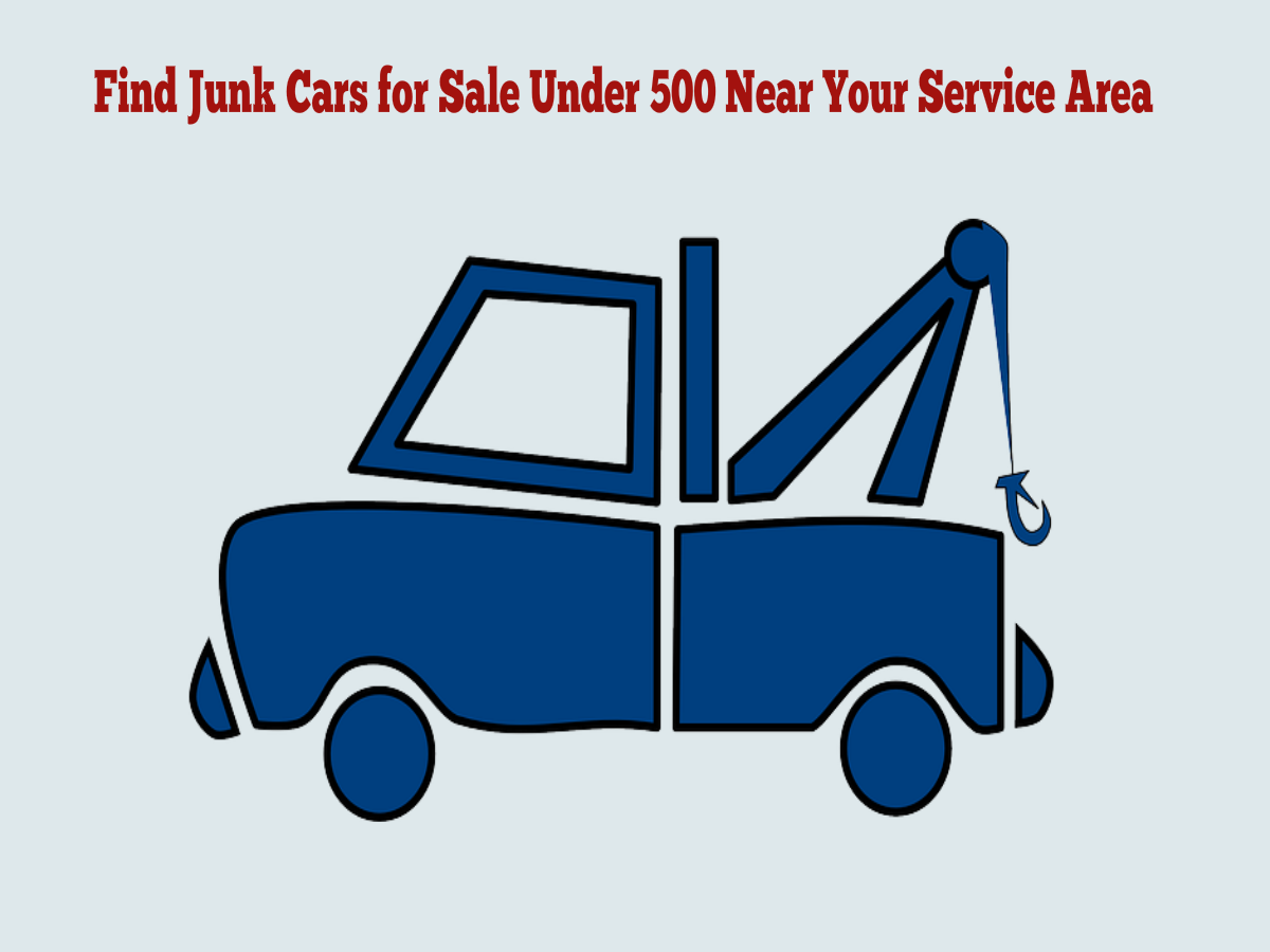 3 Stunning Ways To Quickly Find Junk Cars For Sale By Owner