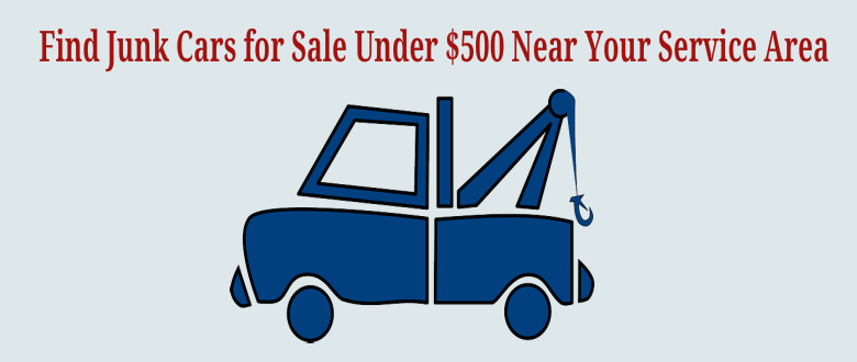 junk cars for sale below 500